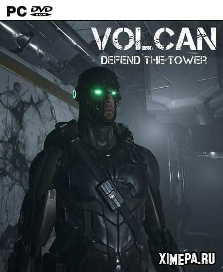 постер игры Volcan Defend the Tower