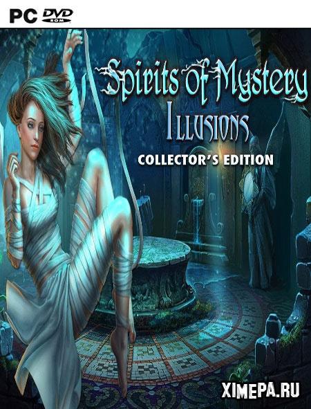 постер игры Тайны духов 8: Иллюзии