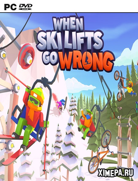 постер игры When Ski Lifts Go Wrong