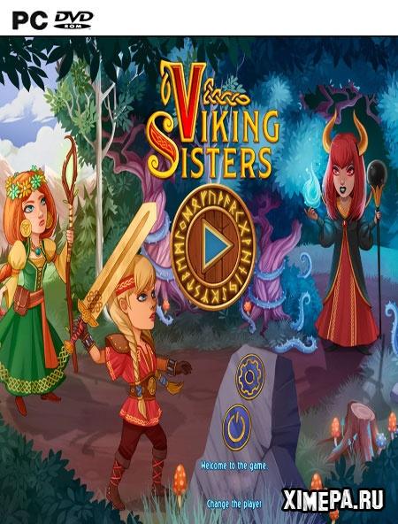 постер игры Сестры Викинги
