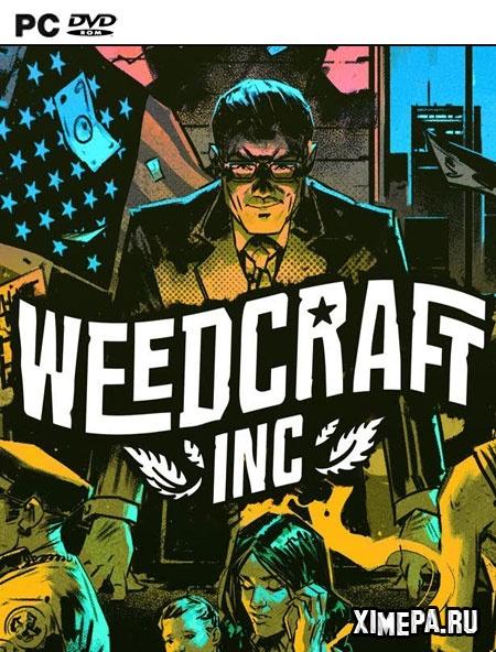 постер игры Weedcraft Inc