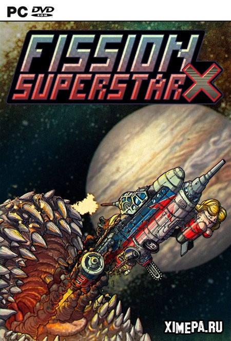 постер игры Fission Superstar X