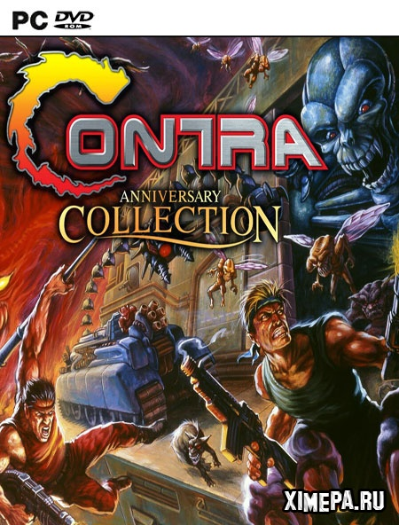 постер игры Contra Anniversary Collection