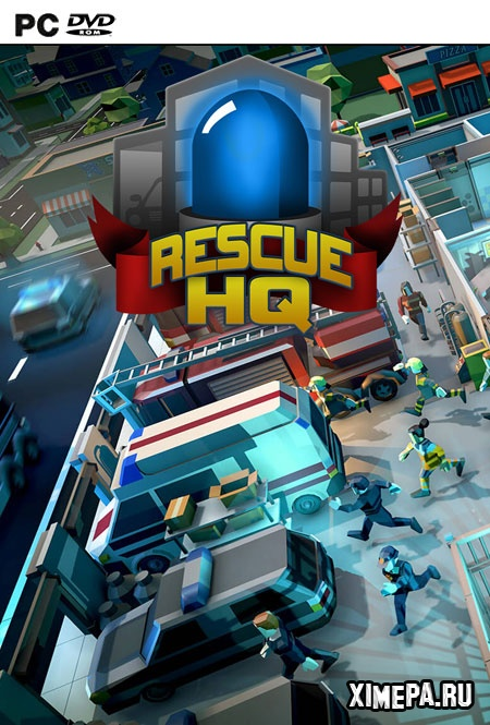 постер игры Rescue HQ - The Tycoon