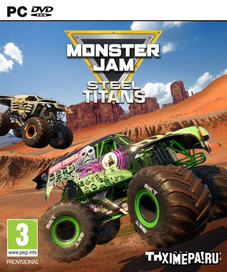 постер игры Monster Jam Steel Titans