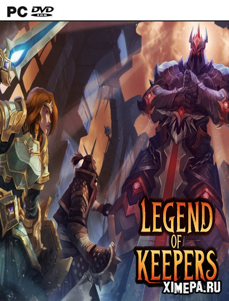 постер игры Legend of Keepers: Career of a Dungeon Master
