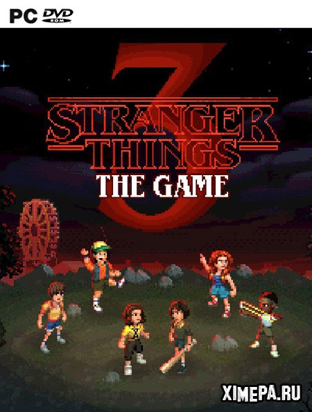 постер игры Stranger Things 3: The Game