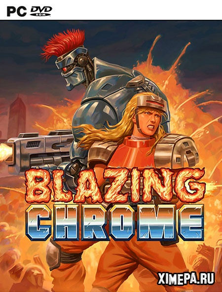 постер игры Blazing Chrome
