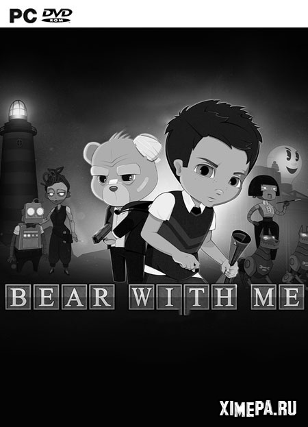 постер игры Bear With Me: The Lost Robots