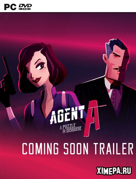 постер игры Agent A: A puzzle in disguise