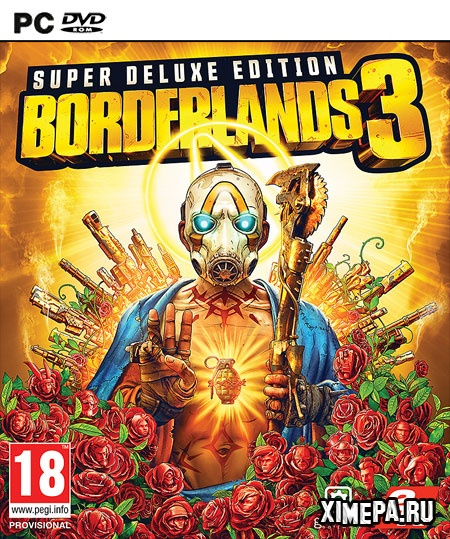 постер игры Borderlands 3 Super