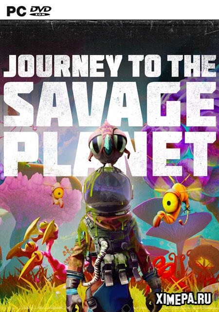 постер игры Journey to the Savage Planet