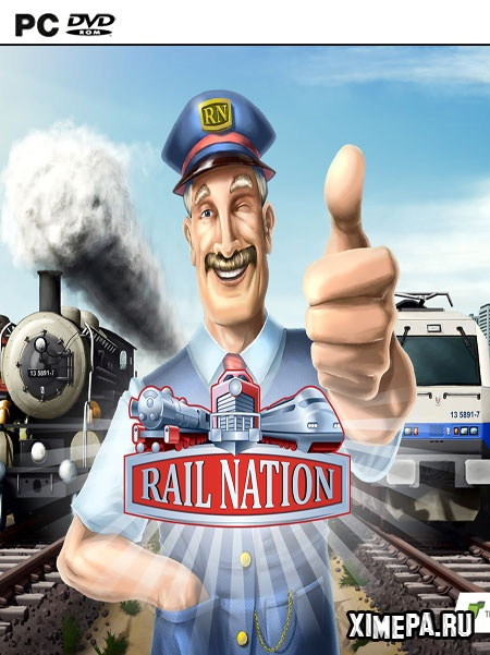 постер игры Rail Nation