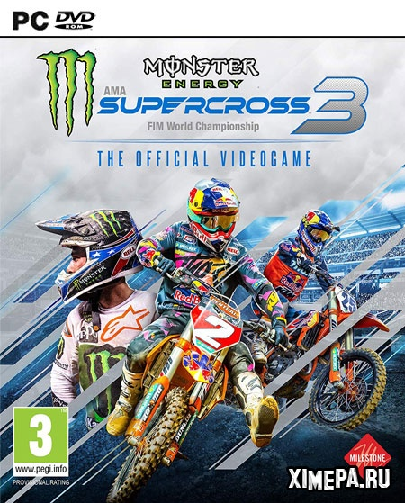 постер игры Monster Energy Supercross - The Official Videogame 3