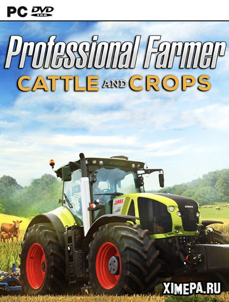 постер игры Professional Farmer: Cattle and Crops