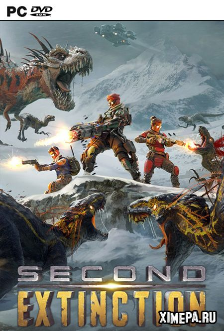 постер игры Second Extinction
