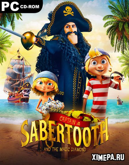 постер игры Captain Sabertooth and the Magic Diamond