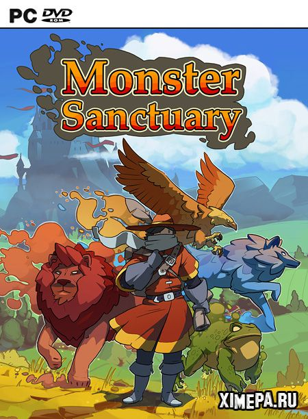 постер игры Monster Sanctuary