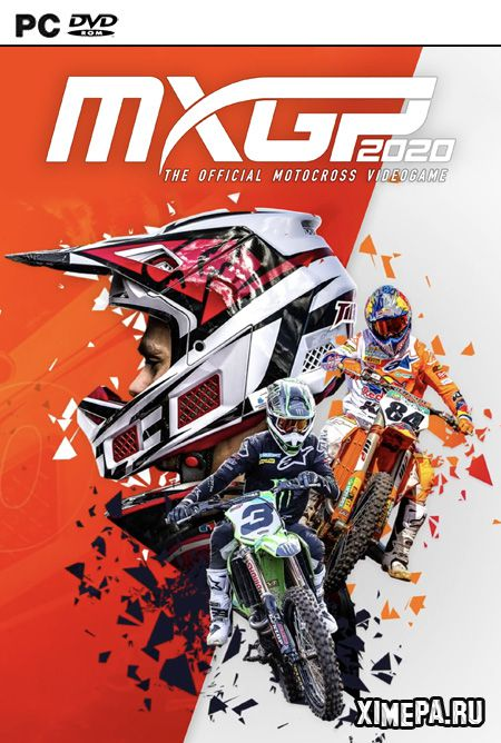 постер игры MXGP 2020 - The Official Motocross Videogame