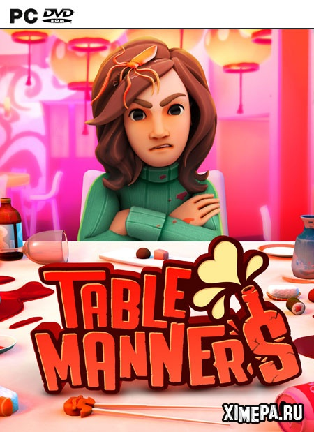 постер игры Table Manners: Physics-Based Dating Game