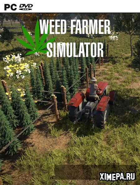 постер игры Weed Farmer Simulator