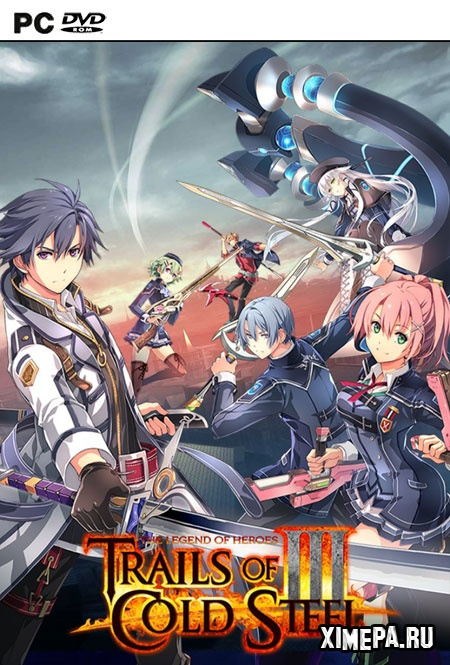 постер игры The Legend of Heroes: Trails of Cold Steel 3