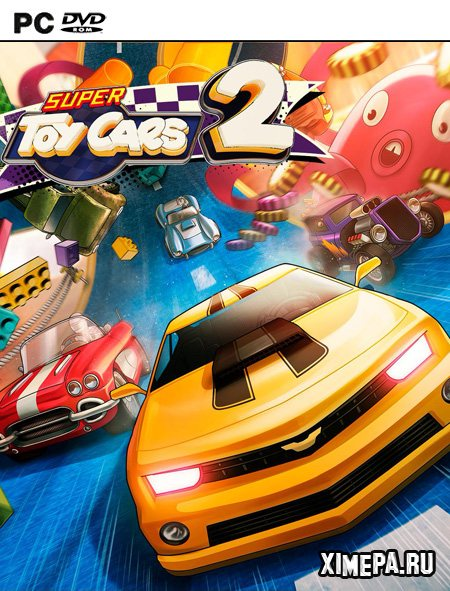постер игры Super Toy Cars 2