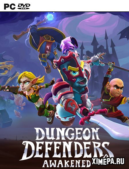 постер игры Dungeon Defenders: Awakened