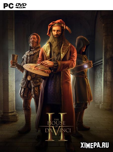 постер игры The House of Da Vinci 2