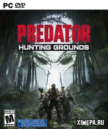 постер игры Predator: Hunting Grounds
