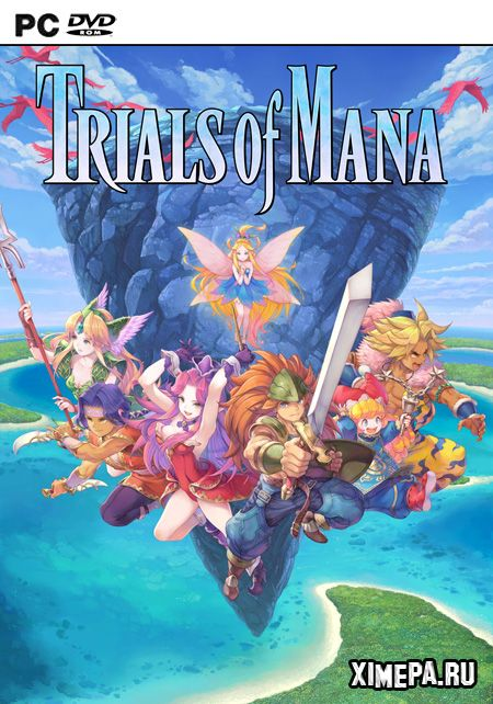 постер игры Trials of Mana