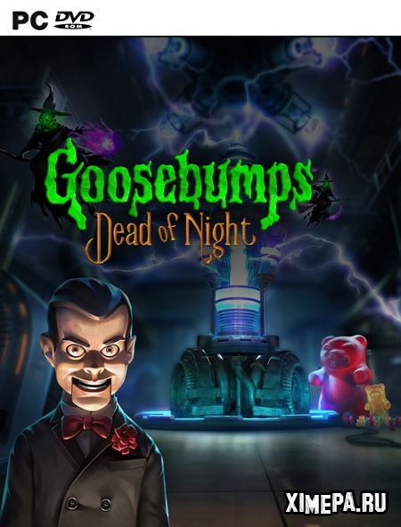 постер игры Goosebumps Dead of Night