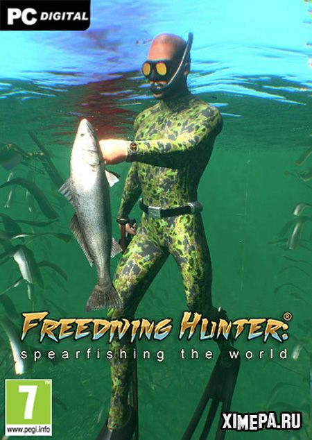 постер игры Freediving Hunter Spearfishing the World