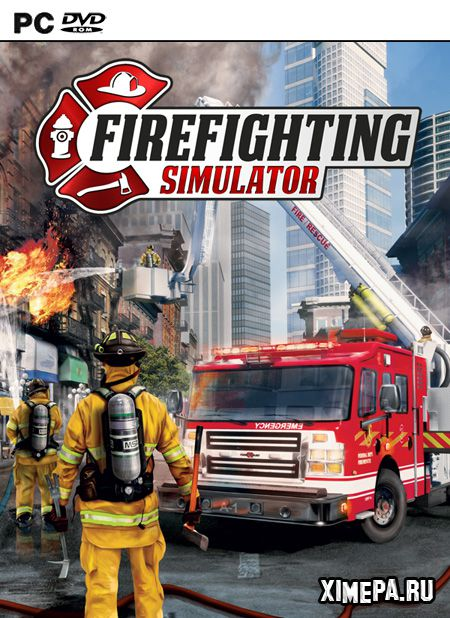 постер игры Firefighting Simulator - The Squad