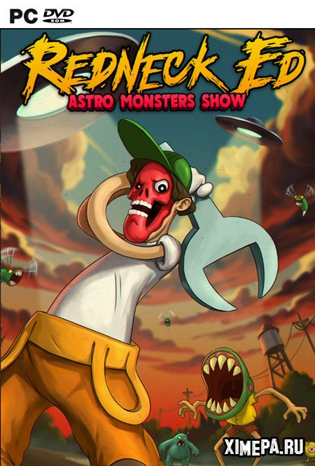 постер игры Redneck Ed: Astro Monsters Show