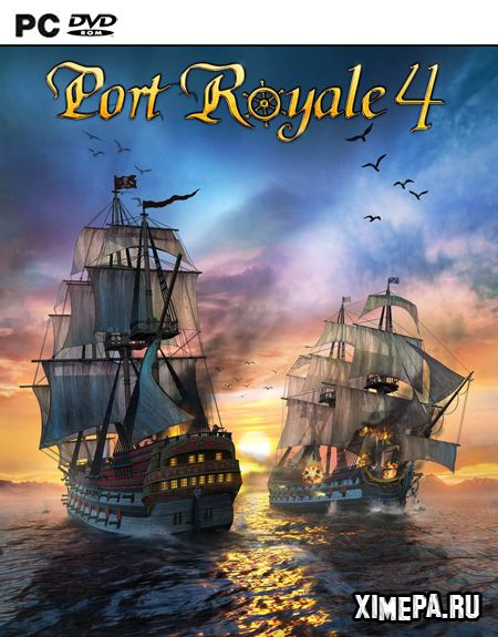 постер игры Port Royale 4