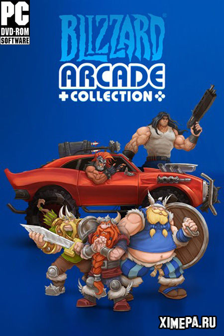 постер игры Blizzard Arcade Collection
