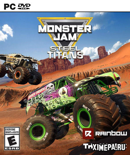 постер игры Monster Jam Steel Titans 2