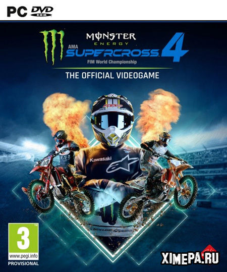 постер игры Monster Energy Supercross - The Official Videogame 4