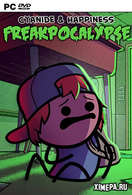 постер игры Cyanide & Happiness - Freakpocalypse
