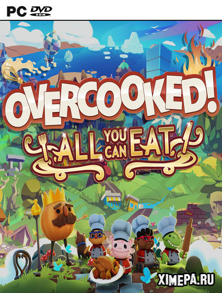 постер игры Overcooked! All You Can Eat